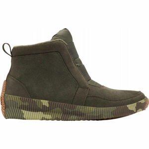 Sorel OUT N ABOUT PLUS MID SUEDE zelená 8.5 - Dámská zimní obuv
