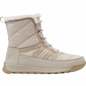 Sorel WHITNEY II SHORT LACE FU šedá 6.5 - Dámská zimní obuv
