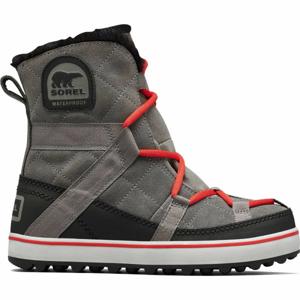 Sorel GLACY EXPLORER SHORTIE šedá 9 - Dámská zimní obuv