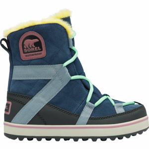 Sorel GLACY EXPLORER SHORTIE modrá 7.5 - Dámská zimní obuv