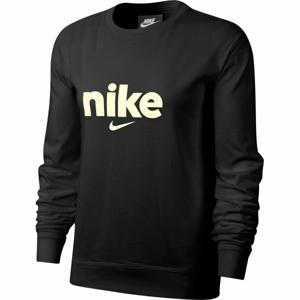 Nike NSW CREW HBR VRSTY W  S - Dámské triko s dlouhým rukávem