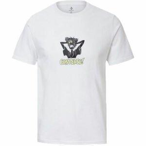 Converse SCOOBY X CONVERSE FASHION S/S TEE  L - Pánské tričko