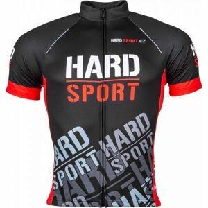 Eleven CESAR HARD M černá L - Pánský cyklistický dres