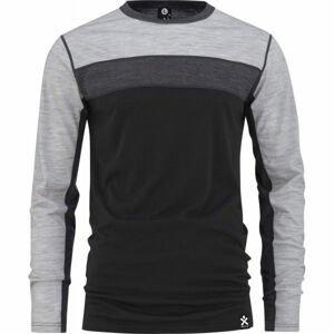 Bula RETRO WOOL CREW  L - Vlněné funkční triko