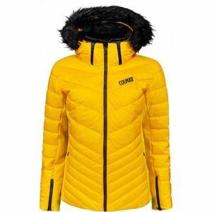Colmar ANCOLIE SKI JACKET WITH DETACHABLE FUR  42 - Dámská péřová lyžařská bunda