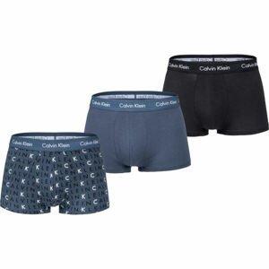 Calvin Klein LOW RISE TRUNK 3PK  M - Pánské boxerky