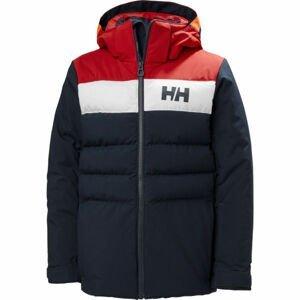 Helly Hansen JR CYCLONE JACKET  12 - Chlapecká lyžařská bunda