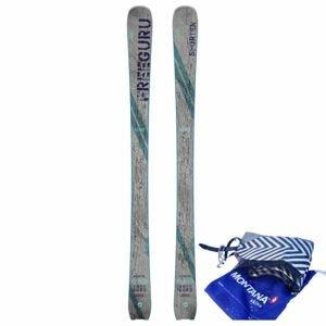 Sporten FREE GURU + STOUPACÍ PÁS FREE GURU  170 - Skialpové lyže se stoupacím pásem