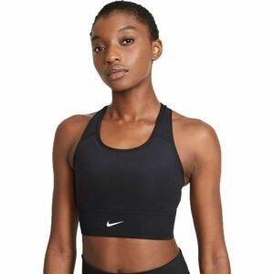 Nike SWOOSH LONG LINE BRA W  M - Dámská sportovní podprsenka