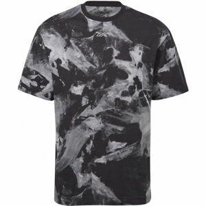 Reebok MEET YOU THERE AOP TEE  2XL - Pánské tričko