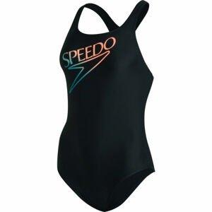 Speedo RETRO LOGO MEDALIST  36 - Dámské plavky