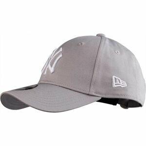 New Era 9FORTY MLB K LEAGUE BASIC NEW YORK YANKEES šedá  - Dětská klubová kšiltovka