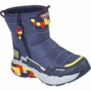 Skechers MEGA-CRAFT  30 - Chlapecká zateplená zimní obuv