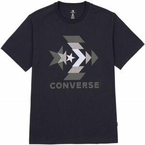 Converse ZOOMED IN GRAPPHIC TEE  L - Pánské tričko