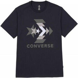 Converse ZOOMED IN GRAPPHIC TEE  M - Pánské tričko