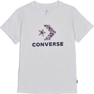 Converse FLORAL STAR CHEVRON GRAPPHIC TEE  XS - Dámské tričko