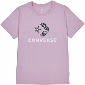 Converse FLORAL STAR CHEVRON GRAPPHIC TEE  S - Dámské tričko