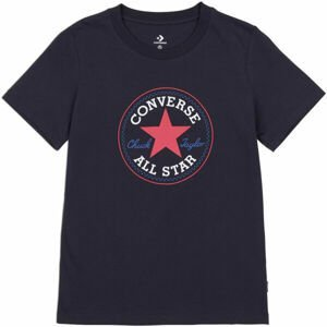 Converse CHUCK TAYLOR ALL STAR PATCH TEE  M - Dámské tričko