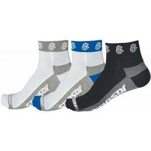 Sensor RUČIČKA 3-PACK bílá 3-5 - Cyklistické ponožky - Sensor