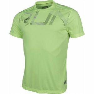 Lotto X RIDE III TEE RUN zelená S - Pánské sportovní triko