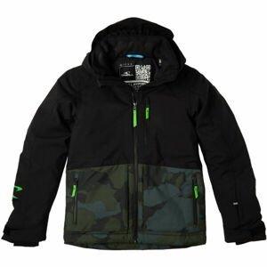 O'Neill TEXTURE JACKET  164 - Chlapecká lyžařská/snowboardová bunda