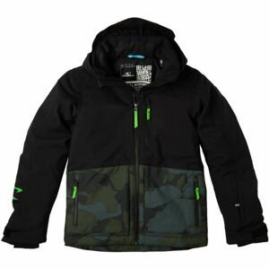 O'Neill TEXTURE JACKET  170 - Chlapecká lyžařská/snowboardová bunda