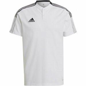 adidas TIRO21 POLO  2XL - Pánské fotbalové triko
