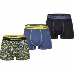 O'Neill BOXER CRISS CROSS&PLAIN 3PACK  L - Pánské boxerky