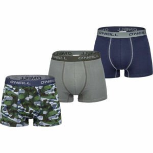 O'Neill BOXER CAMO&PLAIN 3PACK  XL - Pánské boxerky