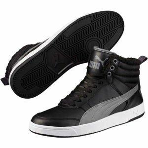 Puma REBOUND STREET V2 FUR  10.5 - Pánská zateplená obuv