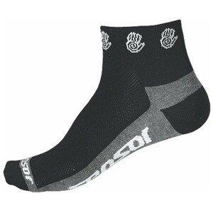 Sensor RACE LITE RUČIČKY černá 43 - 46 - Cyklistické ponožky