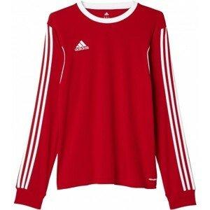 adidas SQUADRA13 JSY LS červená XL - Pánský sportovní dres