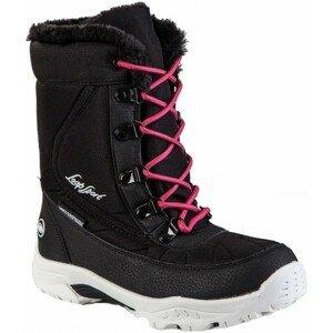 Loap ICE KID růžová 28 - Dětská zimní obuv