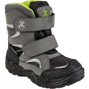 Junior League SIGYN šedá 27 - Dětská zimní obuv