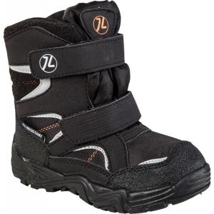 Junior League SIGYN černá 25 - Dětská zimní obuv
