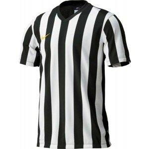 Nike STRIPED DIVISION JERSEY YOUTH černá XL - Dětský fotbalový dres