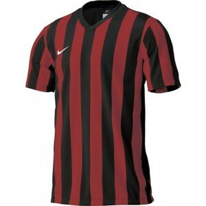 Nike STRIPED DIVISION JERSEY YOUTH tmavě šedá XS - Dětský fotbalový dres