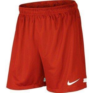 Nike DRI-FIT KNIT SHORT II červená M - Pánské fotbalové trenky