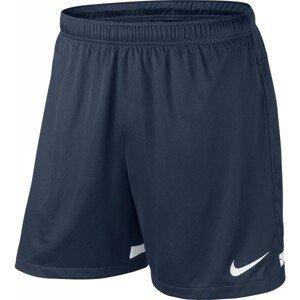 Nike DRI-FIT KNIT SHORT II YOUTH tmavě modrá S - Dětské fotbalové trenky