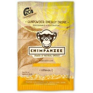 Chimpanzee GUNPOWDER LEMON EN.DRINK 30G   - Energetický nápoj
