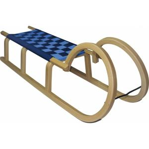 HS Sport HORNED SLEDGE modrá  - Dřevěné saně