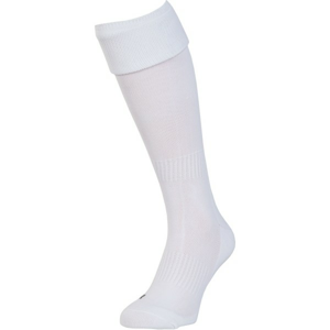 Private Label UNI FOOTBALL SOCKS 41 - 45 bílá 41-45 - Fotbalové stulpny
