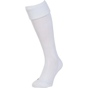 Private Label UNI FOOTBALL SOCKS 28 - 31 bílá 28-31 - Dětské fotbalové stulpny
