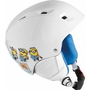 Rossignol COMP J MINIONS bílá (53 - 54) - Juniorská lyžařská helma