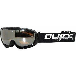 Quick ASG-166 černá UNI - Lyžařské brýle