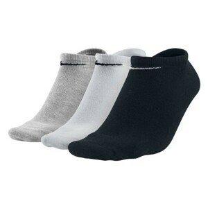 Nike 3PPK VALUE NO SHOW bílá 42-46 - Ponožky