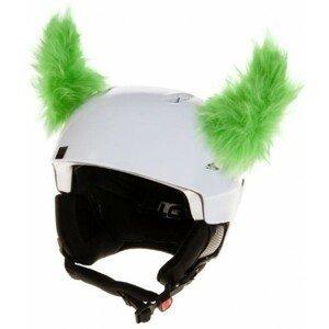 Crazy Ears ROH ZELENÝ zelená  - Uši na helmu