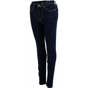 Lee SKYLER SOLID BLUE tmavě modrá 27/33 - Dámské skinny jeansy