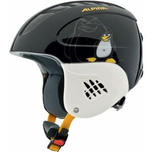 Alpina Sports CARAT černá (48 - 52) - Dětská lyžařská helma