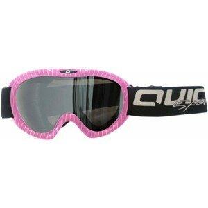 Quick JR CSG-030 růžová NS - Dětské lyžařské brýle